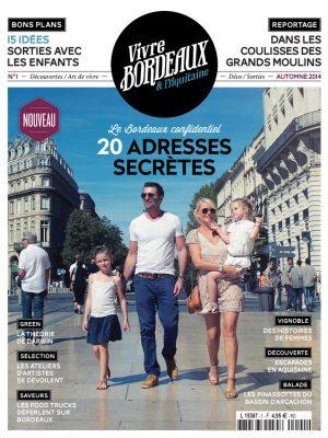 Vivre Bordeaux 1 abonnement magazine