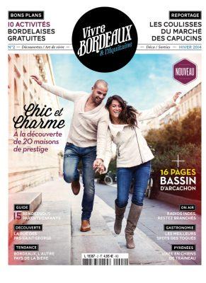 Vivre Bordeaux 2 abonnement magazine