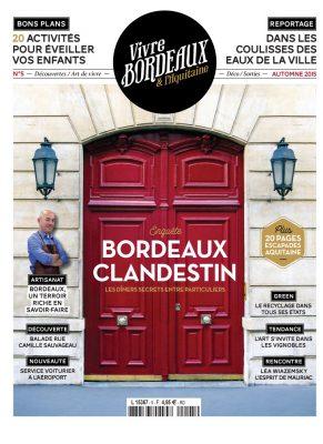 Vivre Bordeaux 5 abonnement magazine