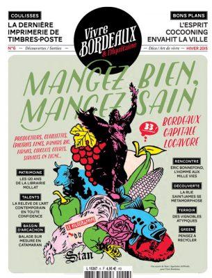 Vivre Bordeaux 6 abonnement magazine