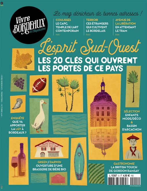 Vivre Bordeaux N°9 Abonnement en ligne
