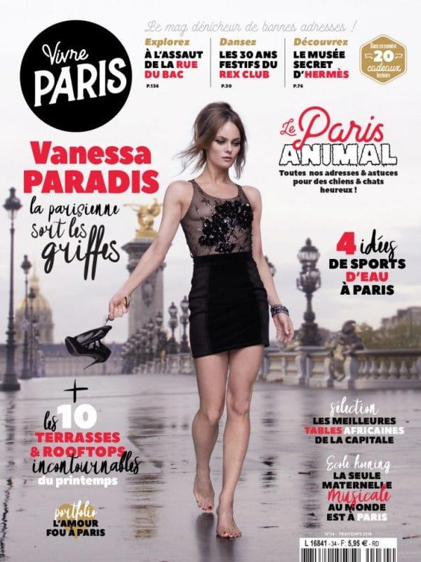 Vivre Paris Vanessa Paradis