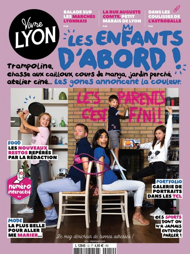 Couverture Vivre Lyon 12