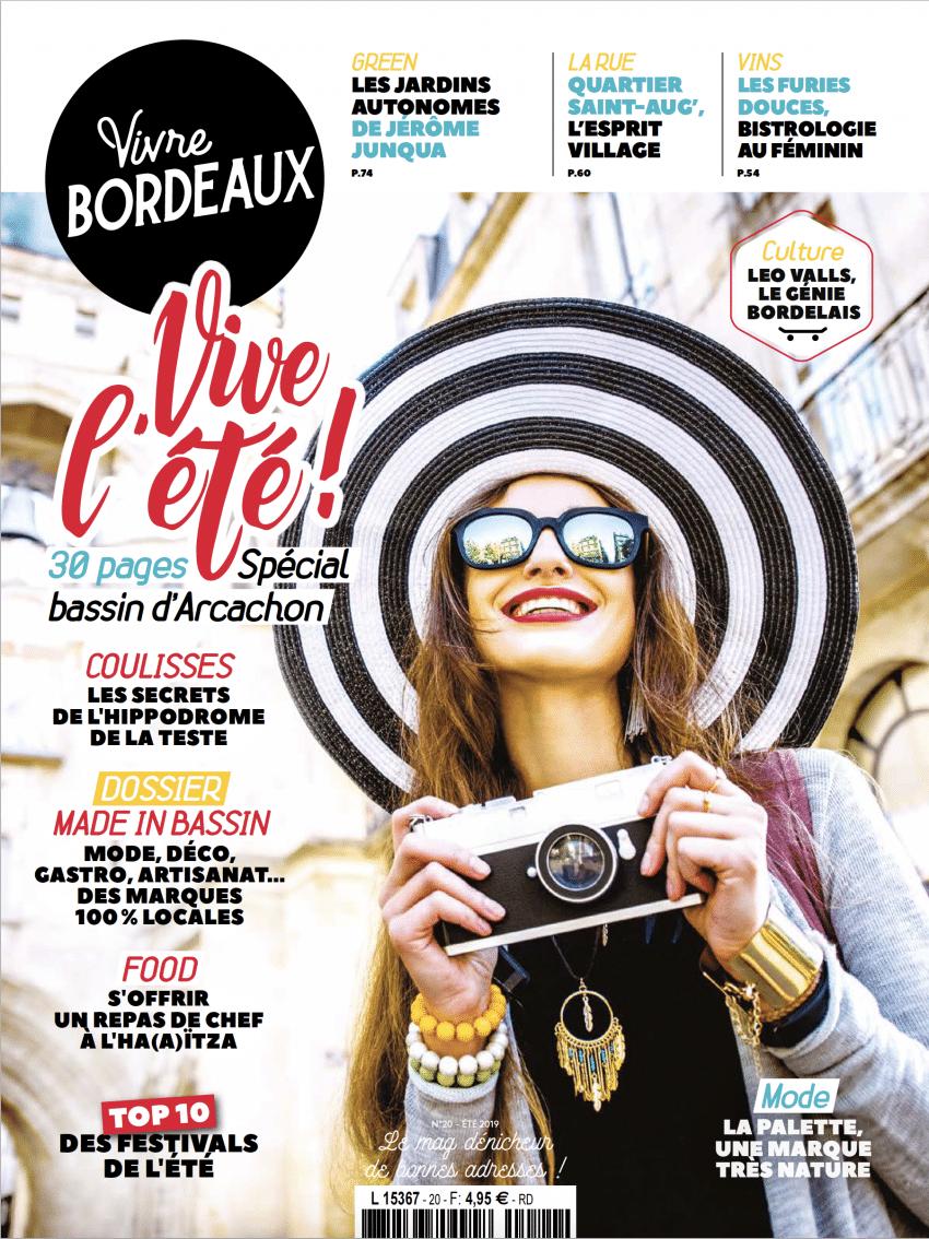 Couverture Vivre Bordeaux 20