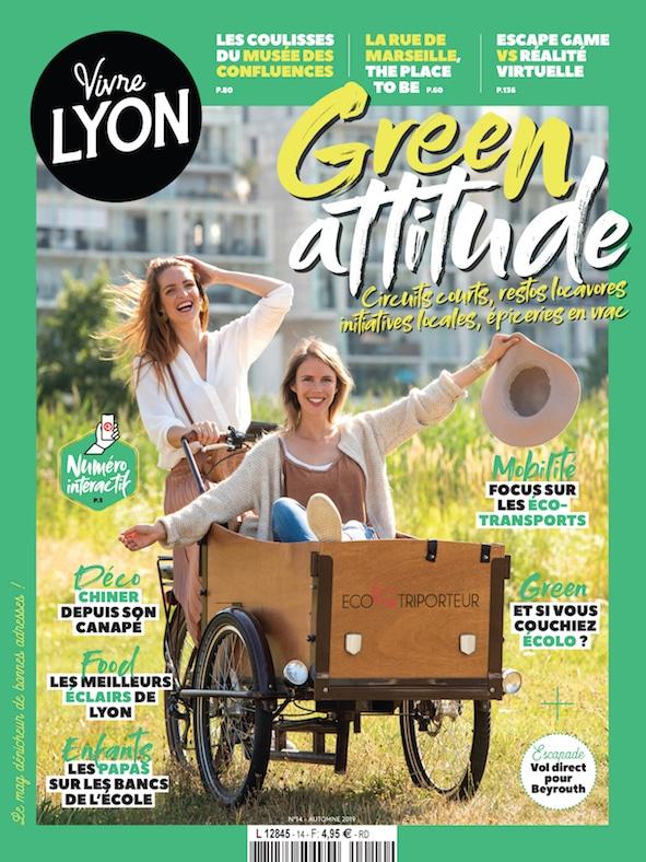 Couverture Vivre Lyon 14