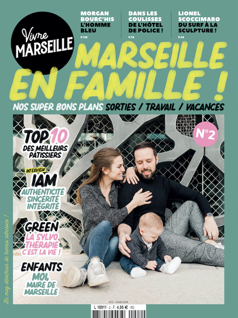 Couverture Vivre Marseille 2