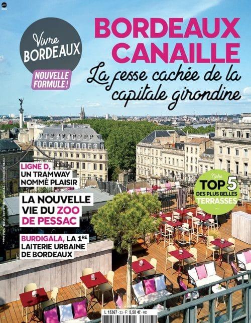 Couverture Vivre Bordeaux 23