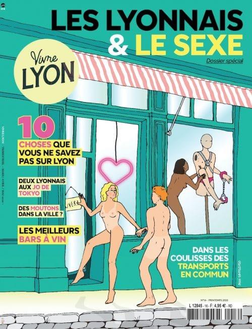 Couverture Vivre Lyon