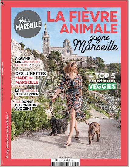 Couverture Vivre Marseille 3